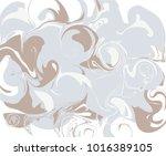 vector illustration of marble... | Shutterstock .eps vector #1016389105