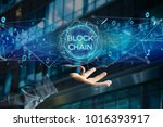 View Of A Blockchain Title Wit...