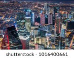 istanbul  turkey. aerial view... | Shutterstock . vector #1016400661