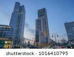 berlin  germany   january 14. ... | Shutterstock . vector #1016410795