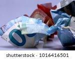 currency euro cash | Shutterstock . vector #1016416501