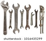 Old Rusty Wrenches  Spanners...