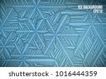 abtract ice pattern. vector... | Shutterstock .eps vector #1016444359