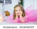 creative portrait of beautiful... | Shutterstock . vector #1016446555