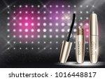 fashion design makeup cosmetics ... | Shutterstock .eps vector #1016448817