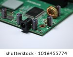 network switch with five ports | Shutterstock . vector #1016455774