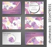 minimal vector covers set.... | Shutterstock .eps vector #1016478031