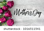 happy mother's day calligraphy... | Shutterstock . vector #1016511541