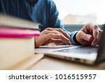 modern education   get a degree ... | Shutterstock . vector #1016515957