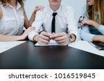 office flirt love romance... | Shutterstock . vector #1016519845