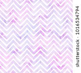 Chevron In Shades Of Purple An...