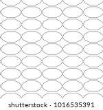 seamless vector pattern in... | Shutterstock .eps vector #1016535391
