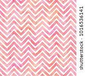 Zigzag Pattern In Watercolor...