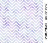 blue and purple chevron pattern ... | Shutterstock . vector #1016541049