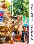 bagan  myanmar   december 1 ... | Shutterstock . vector #1016544931