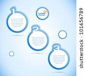 abstract web design  progress... | Shutterstock .eps vector #101656789