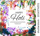 illustration of colorful happy... | Shutterstock .eps vector #1016576551