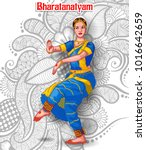 illustration of indian... | Shutterstock .eps vector #1016642659