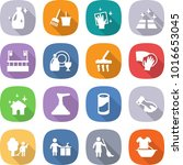 flat vector icon set   cleanser ... | Shutterstock .eps vector #1016653045