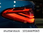 detail on the rear light of a... | Shutterstock . vector #1016669065