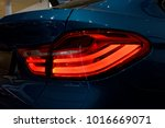 detail on the rear light of a... | Shutterstock . vector #1016669071