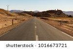 never ending roads going... | Shutterstock . vector #1016673721