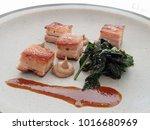 crispy but tender suckling pig... | Shutterstock . vector #1016680969