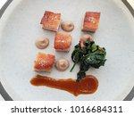 close up food  top view  fine... | Shutterstock . vector #1016684311