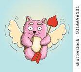 valentines day  valentines... | Shutterstock .eps vector #1016696131