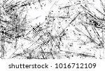 halftone grunge dotted strokes... | Shutterstock .eps vector #1016712109