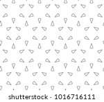 seamless ornamental vector... | Shutterstock .eps vector #1016716111