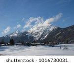 mountain scenery. piding ... | Shutterstock . vector #1016730031