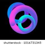 vaporwave lo fi glide halogen... | Shutterstock .eps vector #1016731345