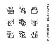 payment  money  finance  card... | Shutterstock .eps vector #1016746951