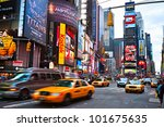 new york city  march 25  times... | Shutterstock . vector #101675635