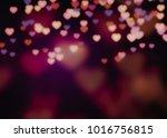 valentine day background design ... | Shutterstock . vector #1016756815