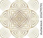 geometric seamless pattern.... | Shutterstock .eps vector #1016795701