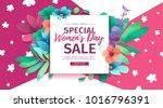 banner for sale international ... | Shutterstock .eps vector #1016796391