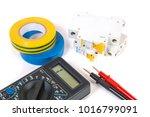 electrical modular circuit... | Shutterstock . vector #1016799091