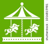 Merry Go Round Horse Ride Icon...