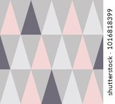 seamless pattern design with... | Shutterstock .eps vector #1016818399