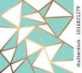 golden geometric lines  modern... | Shutterstock .eps vector #1016821279