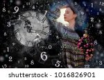 magic world of magic numbers... | Shutterstock . vector #1016826901
