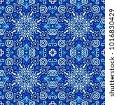 vector arabesque pattern.... | Shutterstock .eps vector #1016830429
