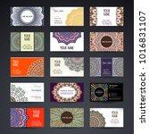 business card. vintage...   Shutterstock .eps vector #1016831107