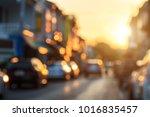 blurred background   blur of... | Shutterstock . vector #1016835457