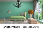 interior living room. 3d... | Shutterstock . vector #1016867041