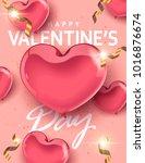 vector valentine's day design...   Shutterstock .eps vector #1016876674