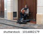 paris  france   january 03 ... | Shutterstock . vector #1016882179