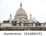 paris  france   january 02 ... | Shutterstock . vector #1016882191